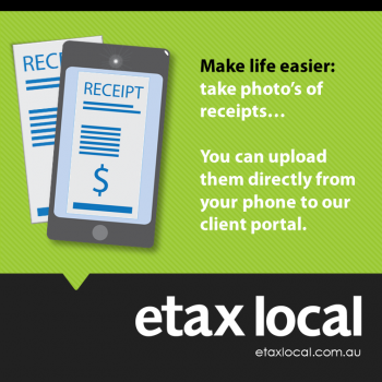 claim charity donations by snapping receipts